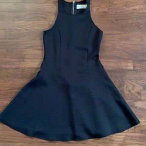Black Abercrombie & Fitch fit and flare dress
